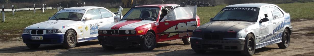 Élményvezetés rally BMW-vel