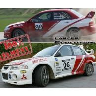 Mitsubishi Lancer EVO rally autó élményvezetés - 5 körös
